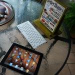 Paper Mache iPad Stand