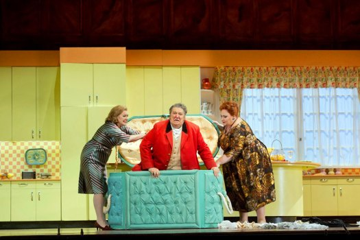 Wagner's Flastaff from the last season | Falstaff de Wagner, de la temporada anterior