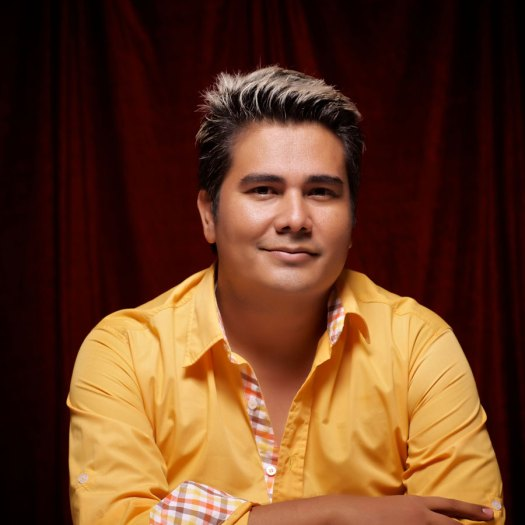 """Juan Pablo Hernández, director de """"El Hombre sin Adjetivos."""""""