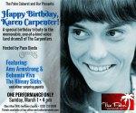 Karen Carpenter Promo Flyer