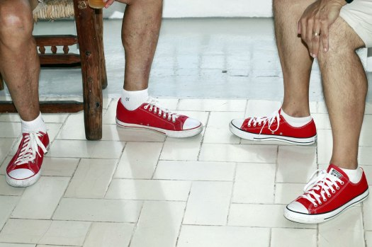 red-sneakers