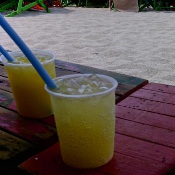 Seltzer and orange juice, my favourite!